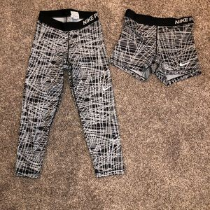 Nike Pro Leggings and Spandex